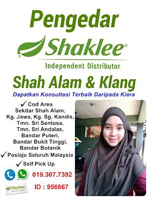 Pengedar Shaklee Shah Alam dan Klang