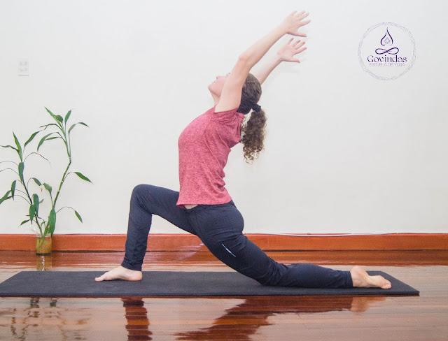 Anjaneyasana, Anjana, postura