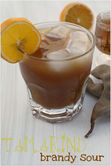 Tamarind Brandy Sour