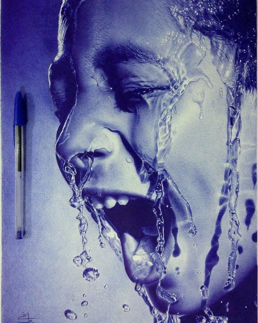 11-Emotions-Set-Free-Mostafa-Khodeir-Celebrities-and-Non-Ballpoint-Pen-Portraits-www-designstack-co