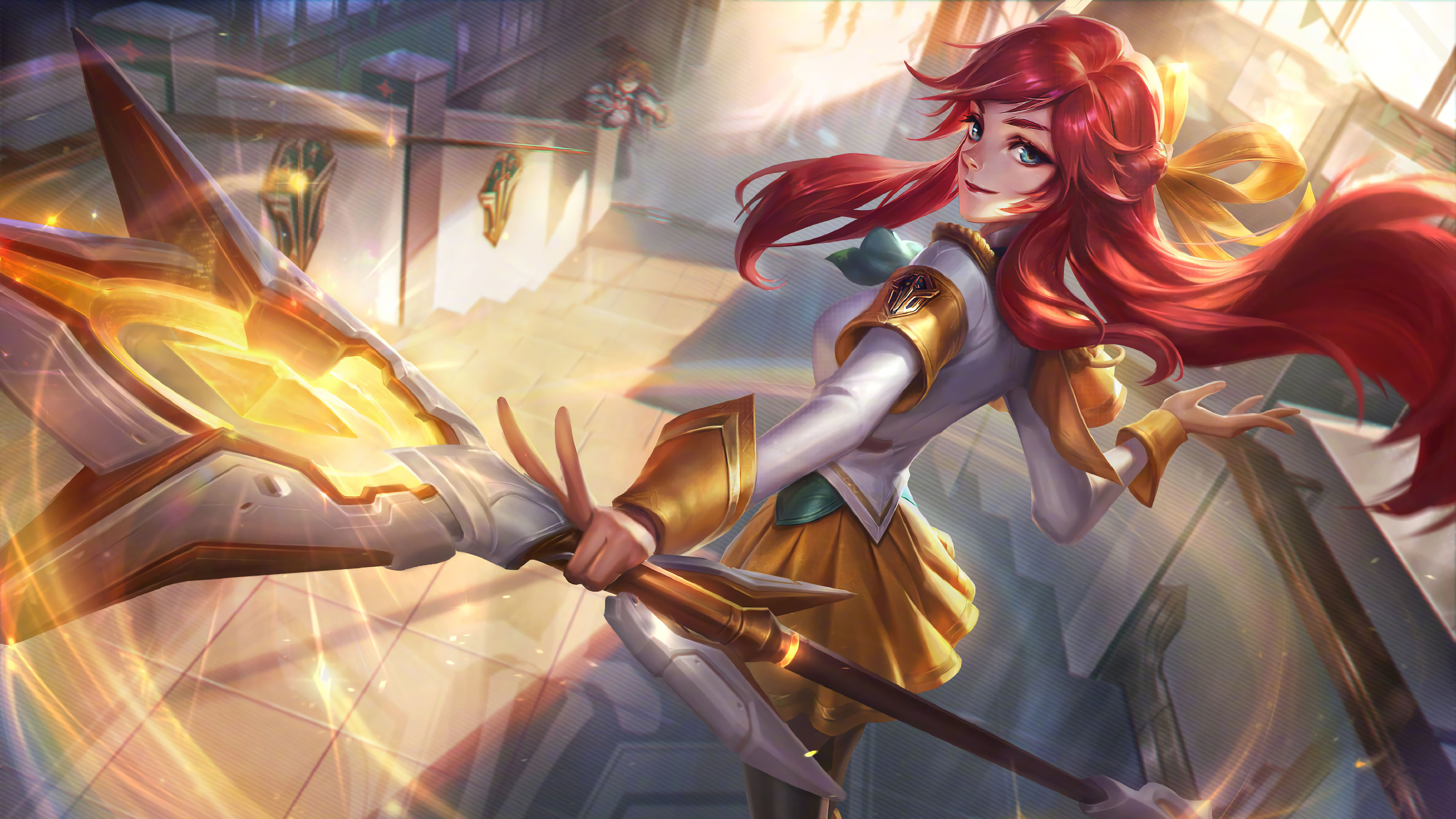 Battle Academia Lux Prestige Edition Splash Art Lol 4k Wallpaper 75