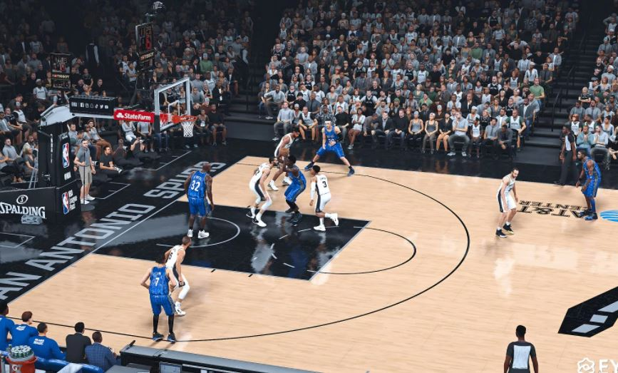 NBA 2K21 Real  texture image quality Reshade V1.0 by 我想操作你