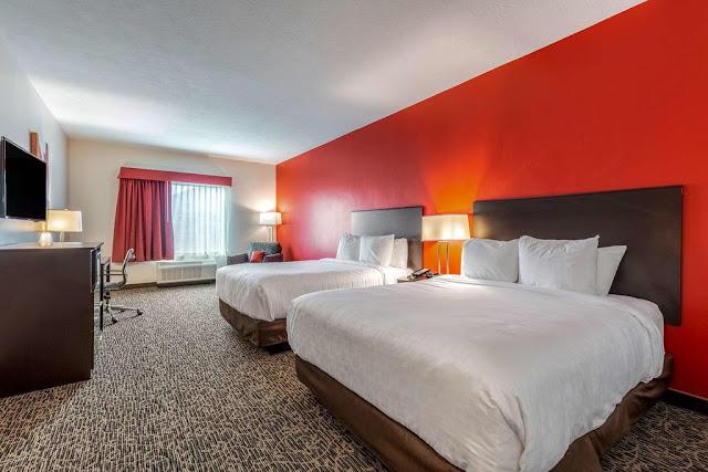 Alojamiento en Zion (Clarion Inn & Suites)