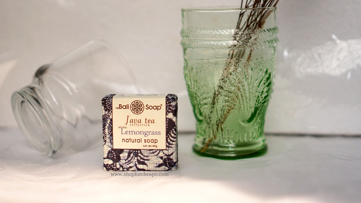 review bali soap lemongrass java collection