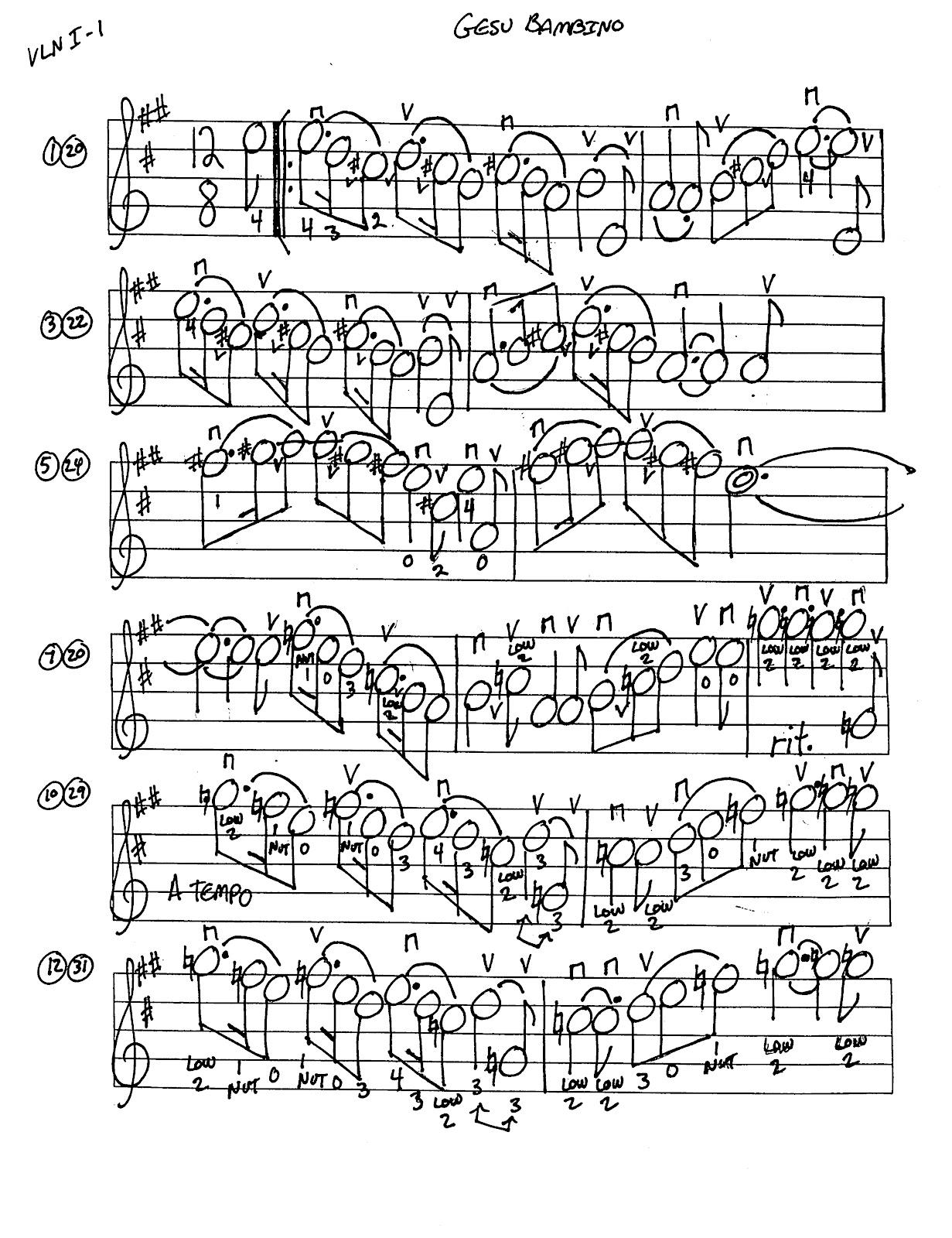 Miss Jacobson's Music: GESU BAMBINO MUSIC WORKSHEETS
