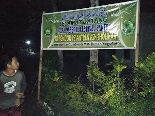 Contoh Banner Ucapan Selamat Datang untuk Acara Pengajian Akbar Haflah Akhirussanah Lomba di Ponpes / Madrasah