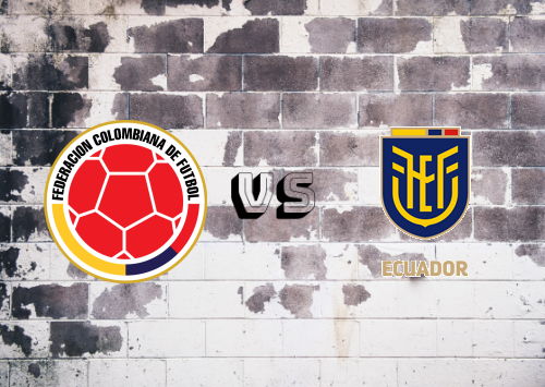 Colombia vs Ecuador  Resumen