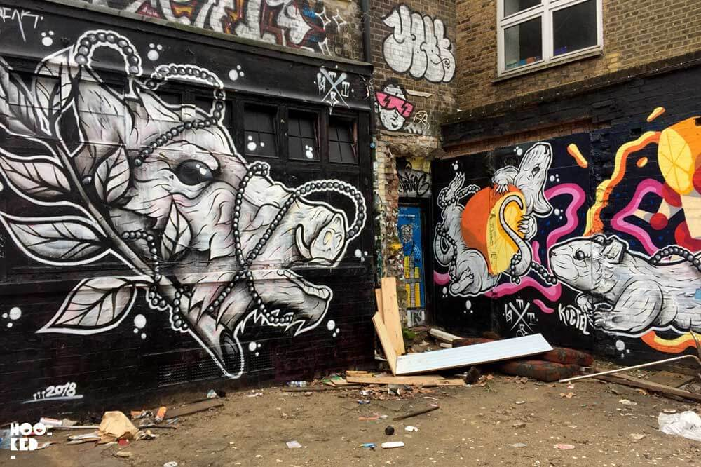 The best places to see London street art on Brick Lane