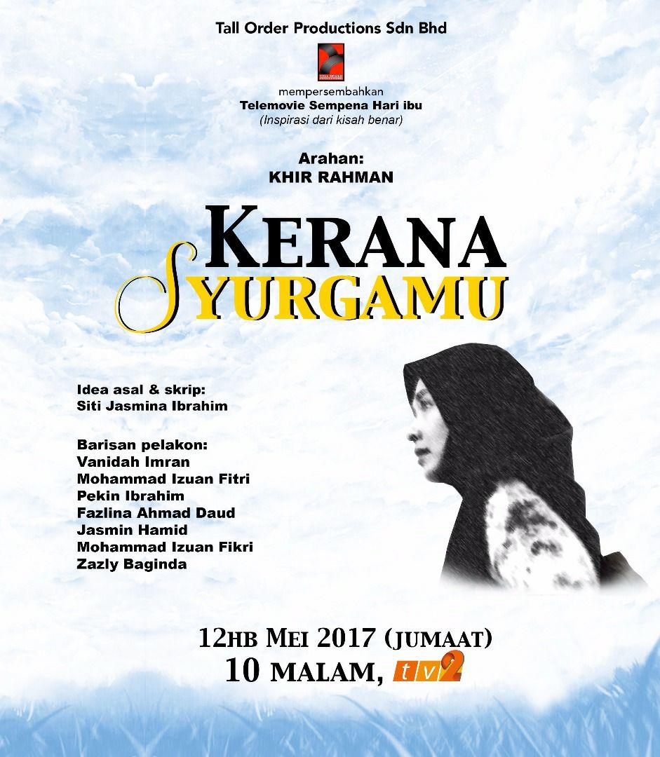 Sinopsis Telemovie Kerana Syuargamu