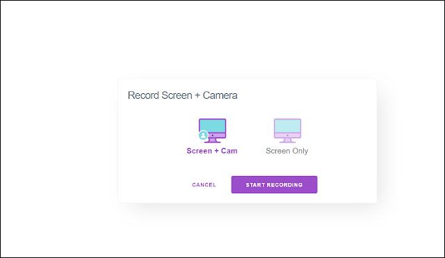 Record screen + camera
