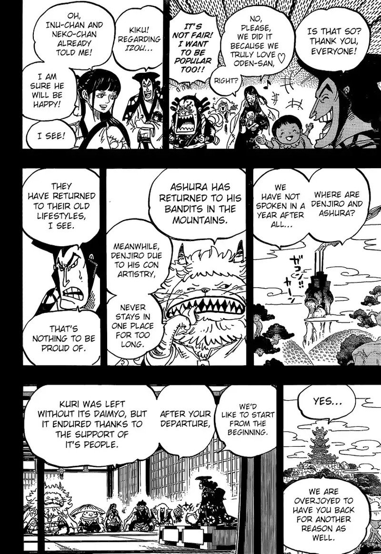 One Piece Manga Chapter 968 - Image 010