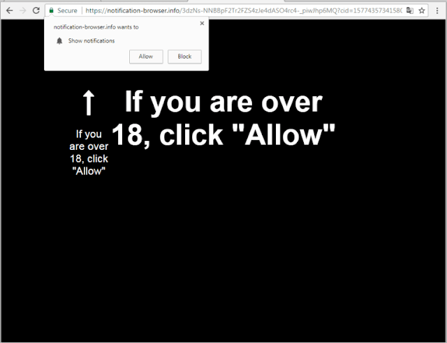 Notification-browser.info pop-ups