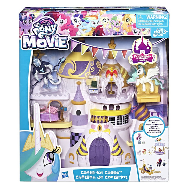 Canterlot Castle Friendship is Magic Collection 2 my little pony movie merch