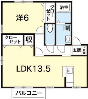 徳島 賃貸 一人暮らし カップル 新婚 1LDK 春日 駐車場2台 築浅 カウンターキッチン