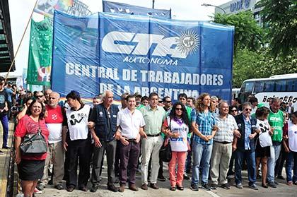 La CTA Autónoma acompaña la movilización del 22 de agosto