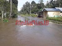 Banjir di Hilisebua, Kades Imbau Pelaksanaan Gotong-Royong