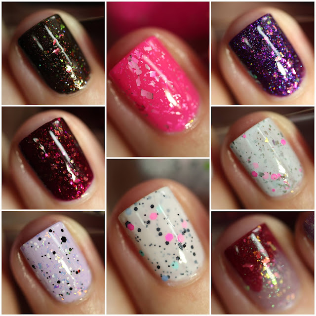 Celanaste nail polish swatches review