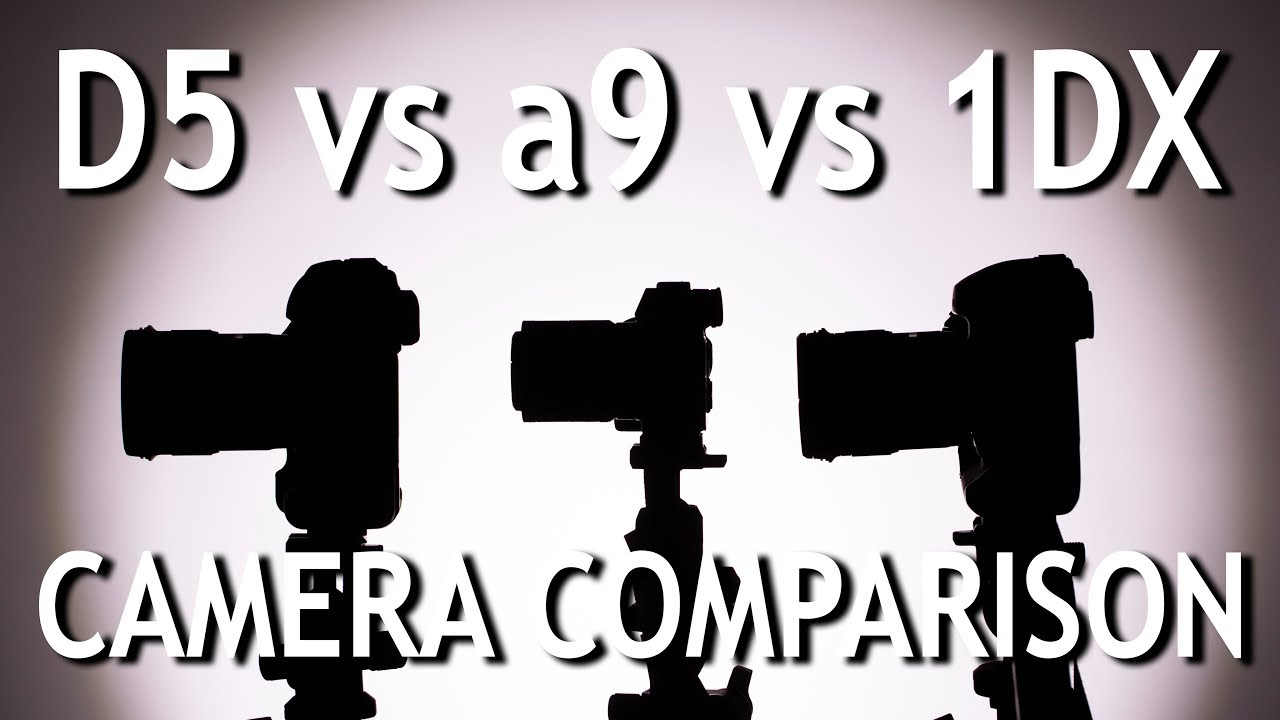 Camera Comparison: D5 vs a9 vs 1DX