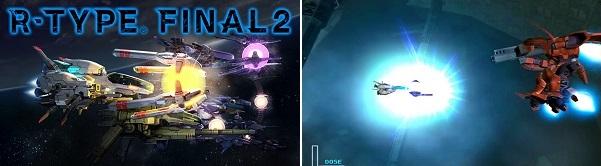 Comparison of R-Type Final 2 vs R-Type Final
