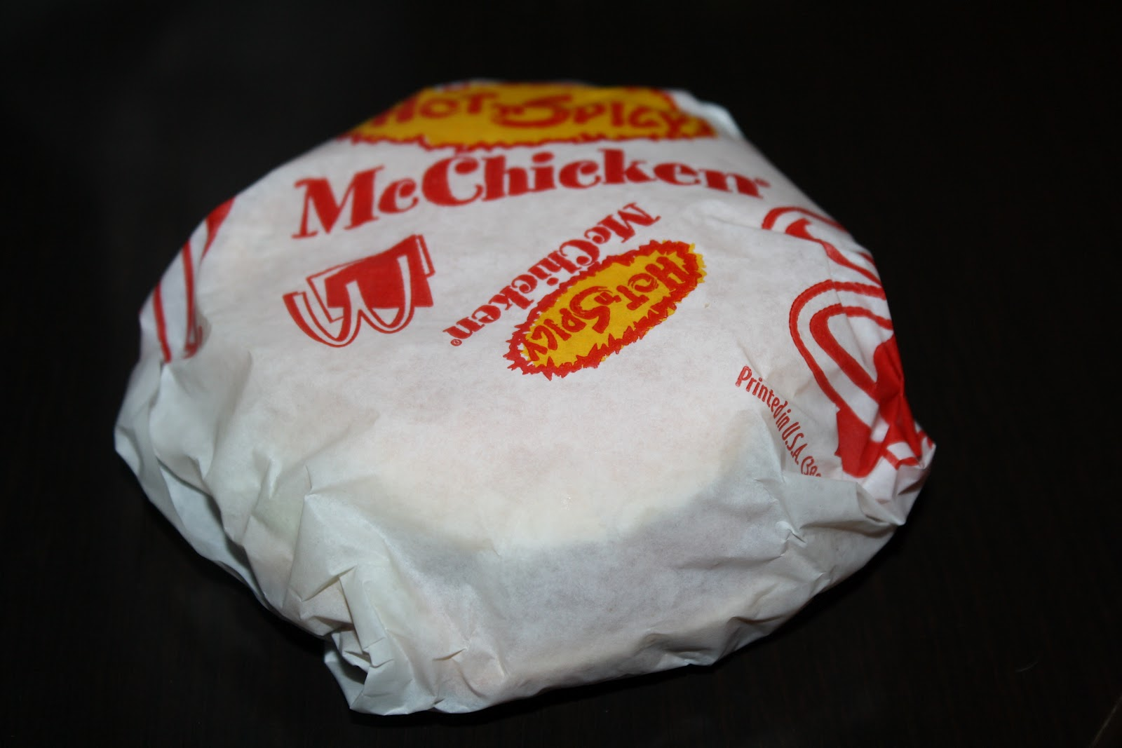 An Immovable Feast: Fast Food Review: McDonald's Hot 'N ...