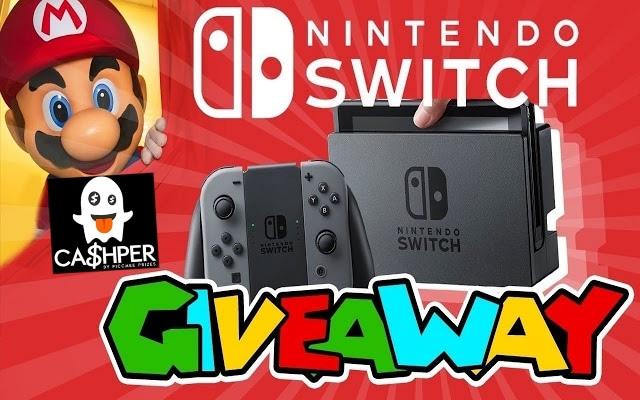 Sorteio de um Nintendo Switch ou $ 300 em dinheiro
