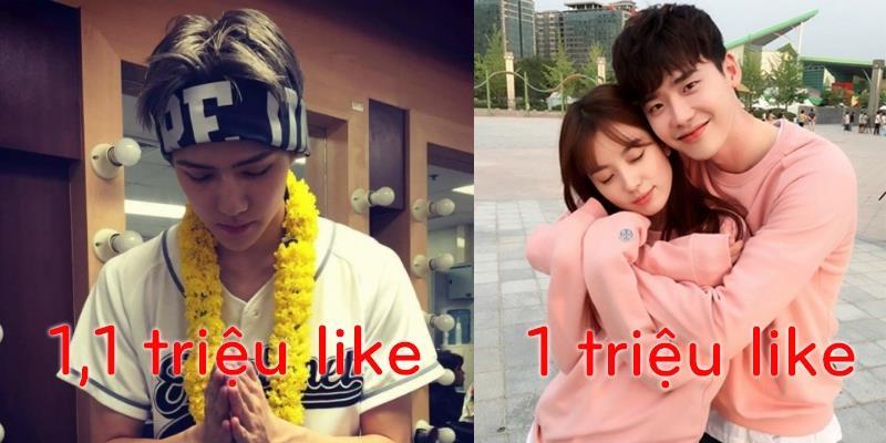 10 bức ảnh câu like nhiều nhất của sao Hàn trên Instagram