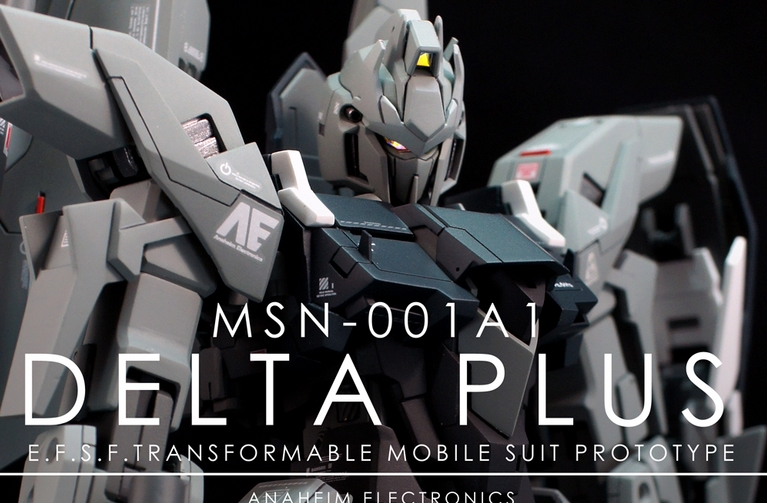 Custom Build: MG 1/100 Delta Plus - Gundam Kits Collection News and Reviews