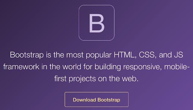 اضافة مكتبة بوتستراب (Bootstrap) لمدونة بلوجر