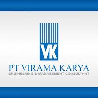Logo PT Virama Karya (Persero)