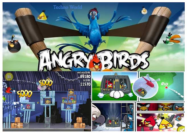 Angry birds rio airfield chase update now available for pc.