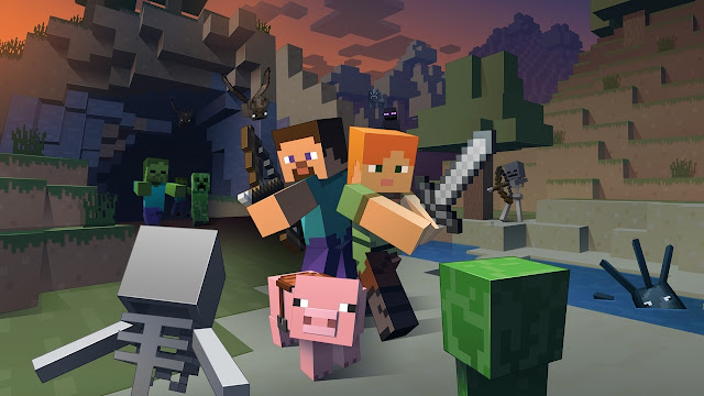 Minecraft Survival Indonesia - Baru Main Langsung Ketemu Villager, Hokikah ? #Episode 1