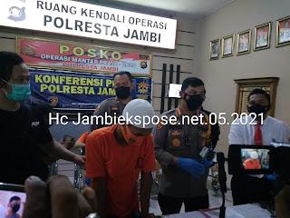Spesialis Jambret 25 Kali Ditangkap