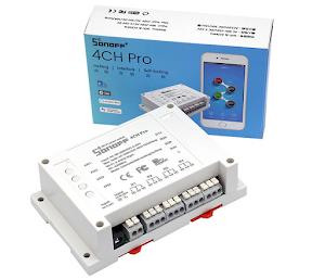Công tắc thông minh Sonoff Wi-Fi 4CH Pro R2