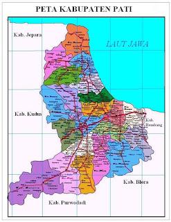 Peta Kabupaten Pati