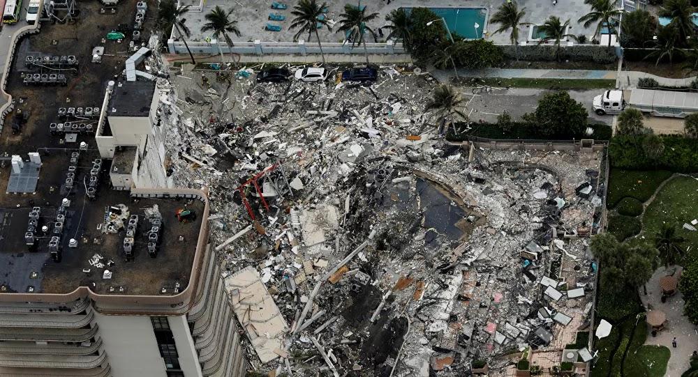 ارتفاع ضحايا المبنى المنهار في ميامي الأمريكية إلى 60 قتيلا