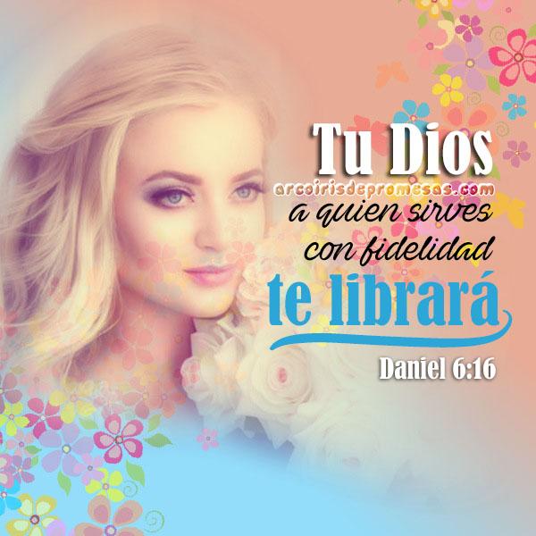 dios te salvará mensajes cristianos con imágenes arcoiris de promesas
