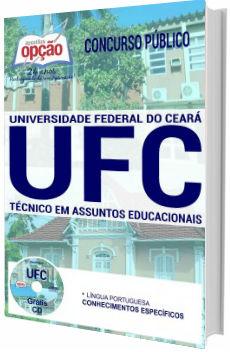 Apostila concurso UFC 2017 - Técnico em Assuntos Educacionais