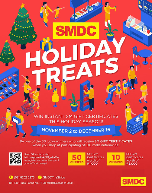 SMDC Malls, SMDC Holiday Treats, Events PH, Giveaway, Raffle and Promo PH,