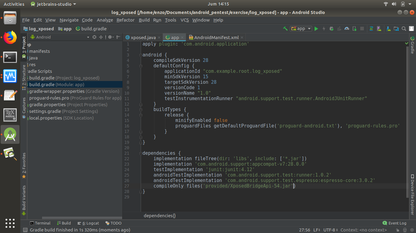 Compileonly Gradle Android
