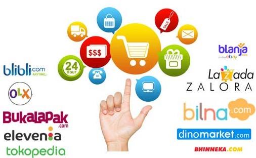Menggunakan Aplikasi Toko Online Gratis Full