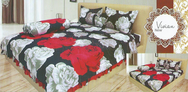 grosir sprei lady rose online, jual sprei lady rose murah surabaya