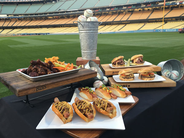 Dodger Stadium New Food