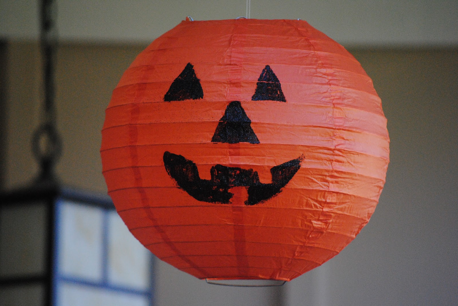 Pottery Barn Knock Off Hanging Pumpkin Lanterns Making