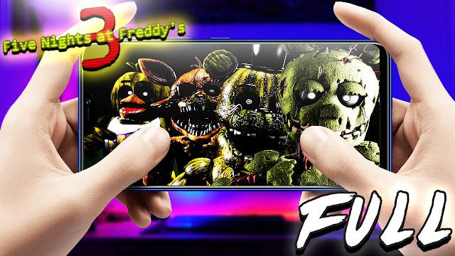 Five Nights at Freddy's 3 (Full) Para Teléfonos Android [Apk]