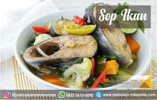 resep sop yang enak dan mudah dibuat, resep sop ikan