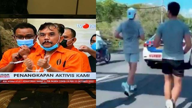 Orang Mirip Cucu Konglomerat Joging Dikawal, Tengku Bandingin Nasib Aktivis