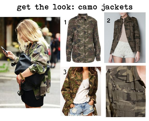 camouflage look fashion diy
