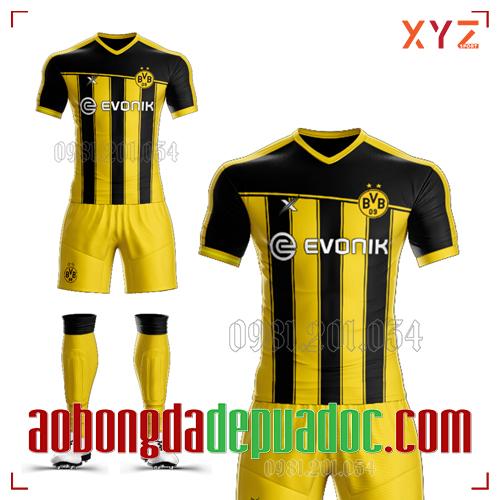 Áo CLB Dortmund Tự Thiết Kế Mã DOR-03 Đẹp Và Độc