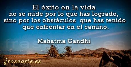 Frases motivadoras de Mahatma Gandhi