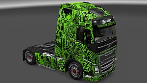 Fantasy Lines Mask Skin Pack for All trucks
